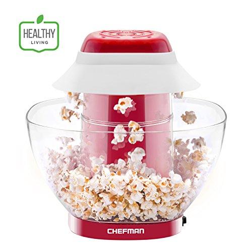 Chefman Electric Perfect Pop Volcano Popcorn Maker with Remo
