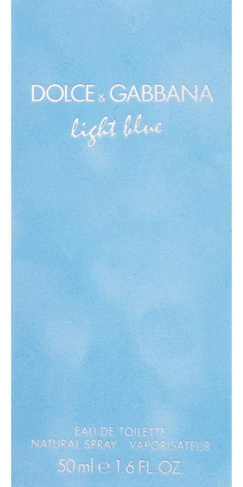 Dolce & Gabbana Light Blue By Dolce & Gabbana For Women. Eau De Toilette Spray 1.6 Oz by Dolce & Gabbana (Image #4)
