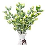 Artificial Flowers,AmyHomie Artificial Succulent Indoor Outside Home Garden Office Verandah Wedding Decor (green)