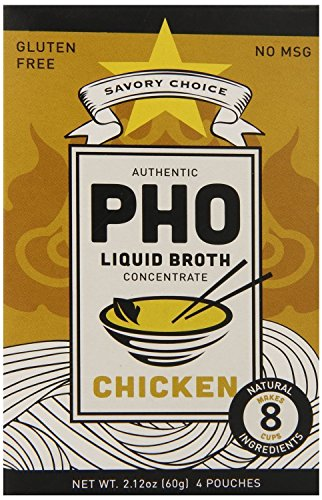 Savory Choice Pho Liquid Broth Concentrate, Chicken, 2.12 (Liquid Phos)