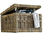 Laundry Hamper Storage Basket Small Bathroom Square Store Laundry Organizer & Ebook By Easy2Find