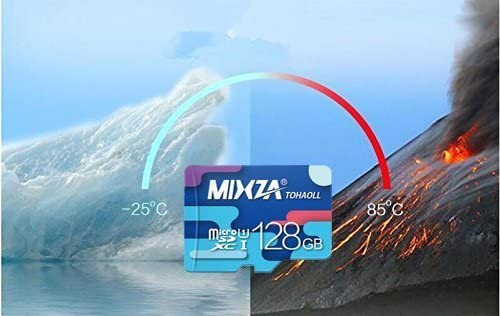 and Built for Lifetime of Constant Use! UHS-3//3.0//V30//80MB//s Heat /& Cold Resistant Professional 128GB MicroSDXC Certified for Garmin 45 by MIXZA is Pro-Speed