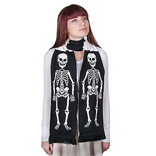 Skeleton Scarf