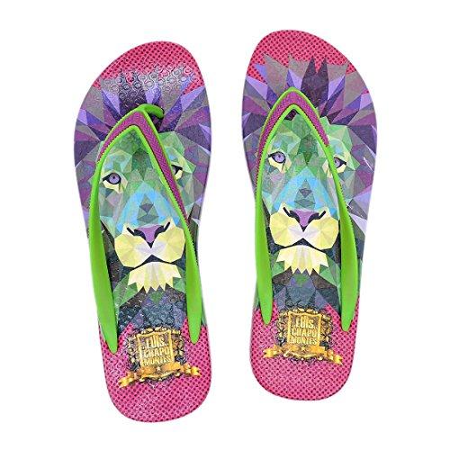 Frida Kahlo Sandales Flip-flop Lion