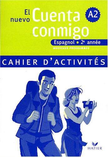 El nuevo Cuenta conmigo, Espagnol 2e année (French Edition)