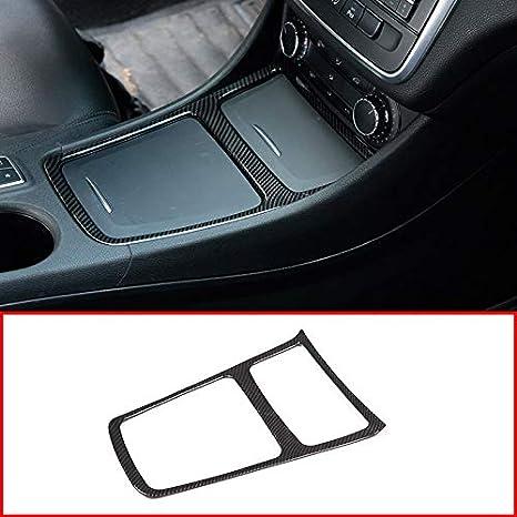 WOVELOT Argent Cadre de Cendrier de Garniture de Bo?Te de Rangement de Voiture en Chrome pour Mercedes Cla Gla Une Classe W117 C117 W176 2013-2018