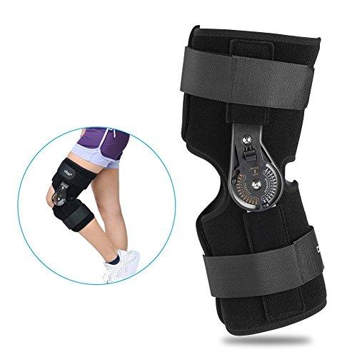 Ortopédica de rodilla, rodillera, rodillera deportiva, ortopedia de lesiones ligamentas, protección de seguridad