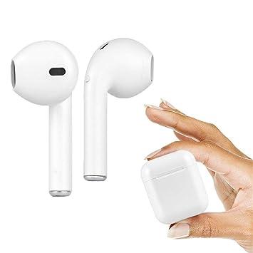 Auriculares inalámbricos Bluetooth Manos Libres Mini Auriculares, Auriculares in-Ear binaurales con micrófono Ruido reductio: Amazon.es: Electrónica