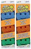 Scrub Daddy Color Sponge, Economy 2 Pack ( 6 Count Total )