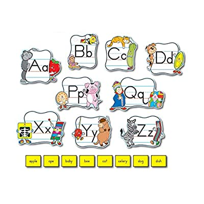Carson Dellosa Alphabet: Traditional Manuscript Bulletin Board Set (110037): Carson-Dellosa Publishing: Office Products