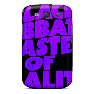 Scratch Resistant Cell-phone Hard Covers For Samsung Galaxy S3 (zuM6093JfNp) Unique Design Trendy Black Sabbath Band Pictures