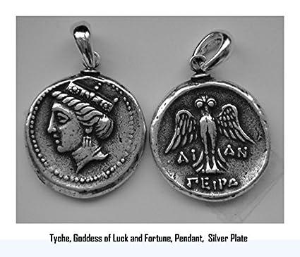 Amazon Greek Mythology Tyche Goddes Of Luckfortune Coin