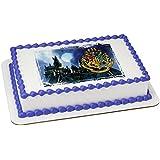 HOGWARTS Picturesque Licensed Edible Sheet Cake Topper 22913