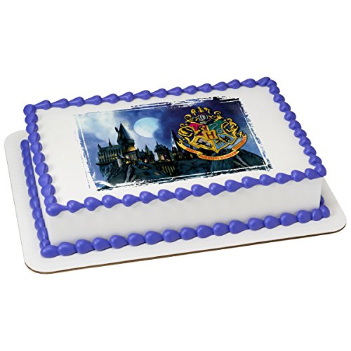 Harry Potter Image - HOGWARTS Picturesque Licensed Edible Sheet Cake Topper #22913