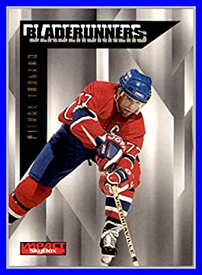1996-97 SkyBox Impact BladeRunners #23 Pierre Turgeon MONTREAL CANADIENS
