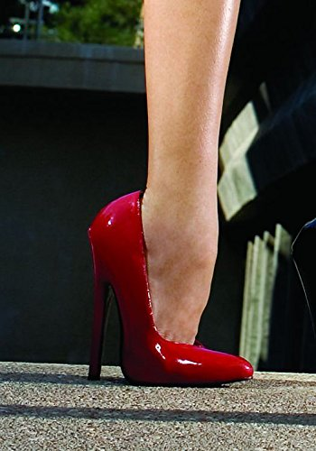 Ellie Shoes Women's 8260 Red Pumps 8 B(M) US -