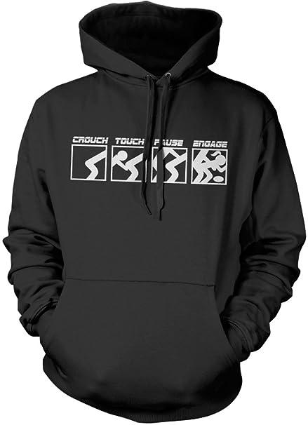 HotScamp Premium Crouch pausa Touch Engage Rude CTE Rugby sudadera con capucha sudadera con capucha para