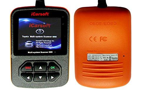 Toyota Hilux Corolla Camry Tundra Rav4 Avalon OBD2 Engine Code Fault Scanner Vehicle Diagnostic Tool iCarsoft i905