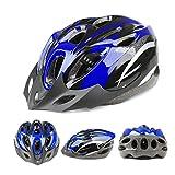 Adult Ajustable Bike helmet Adult Cycling Bicycle Blue PVC EPS Protecting Helmet With Visor - 2014