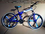 R Cycles Foldable Adventure Sports MTB Cycle With 21 Shimano Gears Yellow Colour