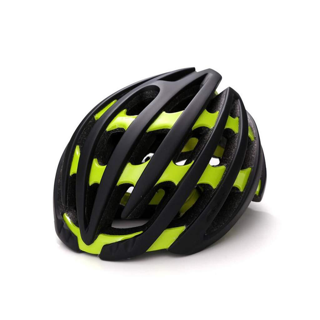 全品送料0円 ヘルメット l サイクルバイクヘルメット l|Green、ロードマウンテンバイクヘルメット調節可能な軽量ワンボディー成人用ヘルメットバイクレーシングセーフティキャップ B07PX9WMP4 ヘルメット Green L l L l|Green, セレクトサニー:a2643e05 --- domaska.lt