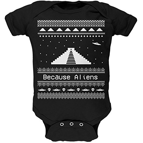 Ancient Aliens Ugly Christmas Onesie