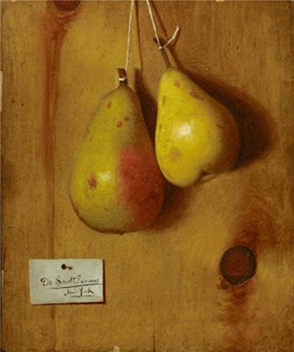 [Oil Painting 'De Scott Evans,Still Life With Pears,ca.1888', 12 x 14 inch / 30 x 37 cm , on High Definition HD canvas prints is for Gifts And Foyer, Hallway And Kitchen Decoration,] (Scott Hall Costume)