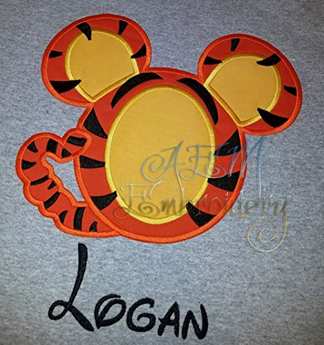 Personalized Tigger Mickey Head Unisex Vacation Shirt ()