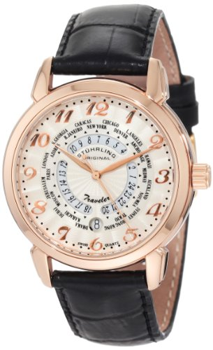 Stuhrling Original Men's 118.334534 Lifestyle 'World Traveler' Swiss Watch