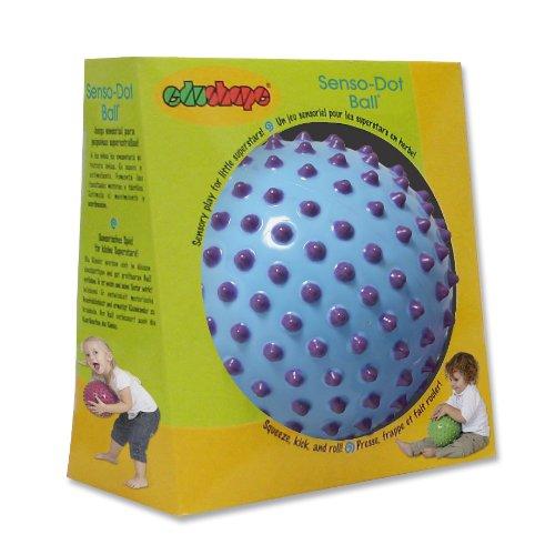 "Edushape Senso-Dot Ball, 7"", Colors May Vary"