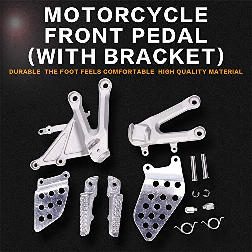 Frames & Fittings Front Foot Rests Pedal Bracket Assembly Kit for Honda CBR1000RR 2004 2005 2006 2007 CBR1000 04 05 06 07 Motorcycle Parts