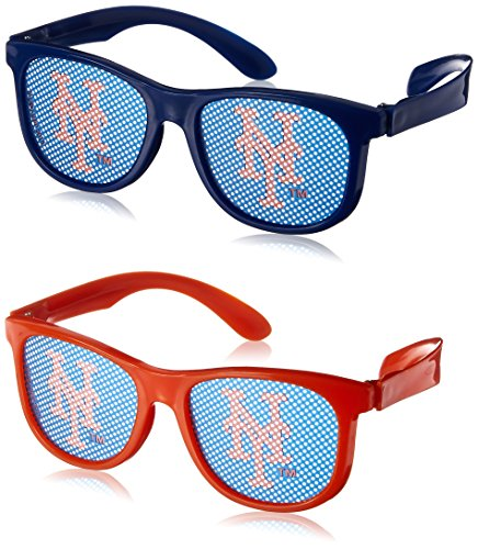 amscan New York Mets Major League Baseball Collection Printed Eyeglasses, Party Favor, 60 Ct.