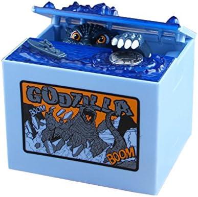 Godzilla roba Dinero Elegante Hucha de Cerdito para Robar Dinero con iluminaci/ón el/éctrica Creativa para ni/ños dise/ño de Godzilla al Azar