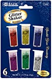 Bazic 3g/0.10 oz. 6 Primary Color Glitter Shaker 144 pcs sku# 1766739MA