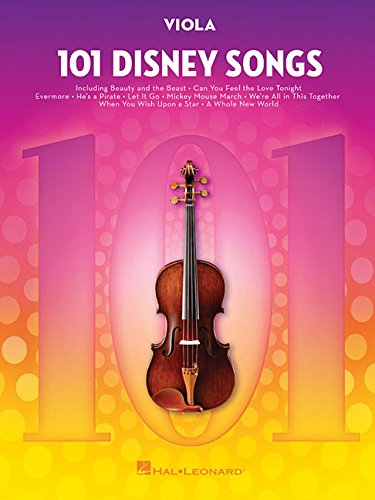 101 Disney Songs: for Viola