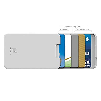 Amazon com : Wffo Zenlet Credit Card Package Anti-Side