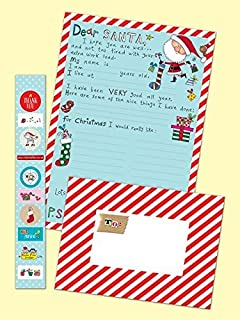 Neviti christmas craft letter to santa kit multi colour amazon rachel ellen letter to santa pack spiritdancerdesigns Images
