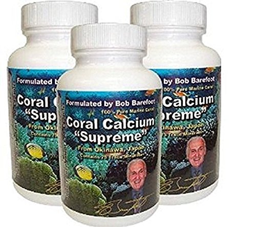 Bob Barefoot'S Coral Calcium Supreme, 3 - Pack Coral