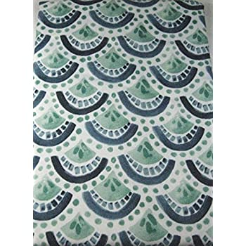Amazon.com: Nicole Miller Indoor/Outdoor Fabric Tablecloth, Floral ...