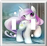Got You Covered bb MY-LITTLE-PONY-CHILDREN-NURSERY-DECOR-CUTE-LIGHT-SWITCH-OR-OUTLET-COVER-V711 (Double): more info
