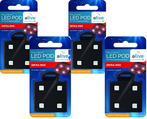 (4 Pack) Elive LED Light Pods - Infra-Red by Elive