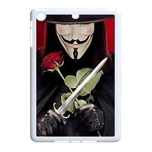 C-EUR Diy Case V for Vendetta Customized Hard Plastic Case For iPad Mini