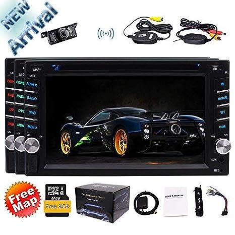 Amazon.com: Pantalla LCD para monitor de coche con mando a ...