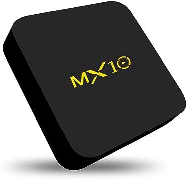 MX10 4K Smart TV BOX RK3328 Android 9.0 Quad Core 4GB 32GB USB3.0 2.4G Keyboard