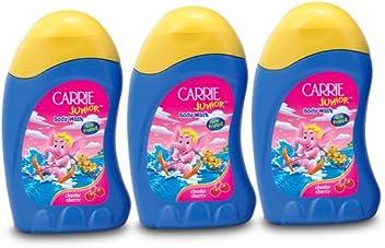Carrie Junior Body Wash, Cheeky Cherry, 100ml (Buy 2 Get 1 Free)