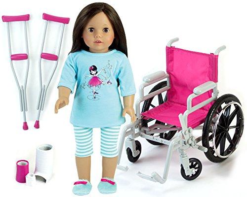 american doll wheel chair - 7