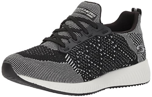 Skechers Damen Bobs Squad-Hot Spark Slip On Sneaker Schwarz