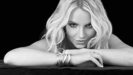 Britney Spears Art Wall Cloth Poster Print 518
