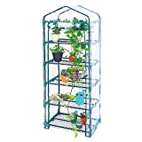 Worth Garden 5 Tier Mini Greenhouse with Cover, 27