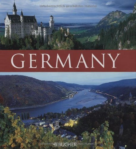 Germany: A visit to the heart of Europe (Colouring Books)